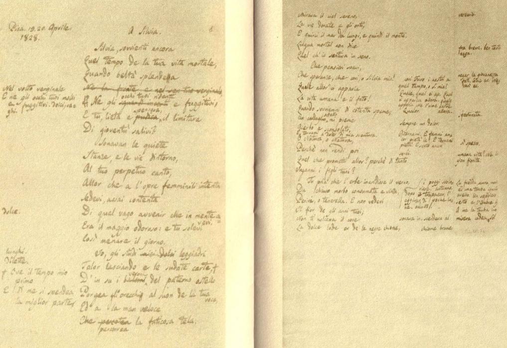 Passeggiando Per Pisa Dove Leopardi Scrisse Quot A Silvia Quot E