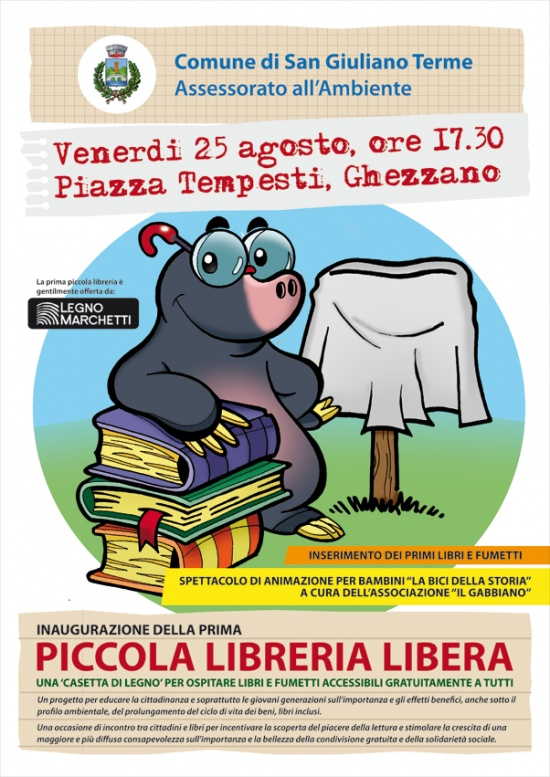 Al via il progetto delle \'piccole librerie libere\': venerdì 25 ...