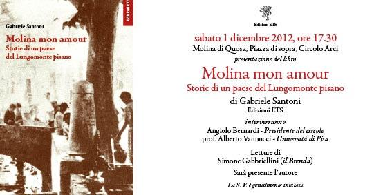 Presentazione del libro di Gabriele Santoni ..   La Voce del Serchio ... f046a26373a
