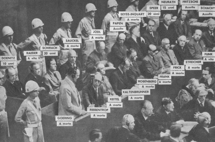 Risultati immagini per processo Norimberga