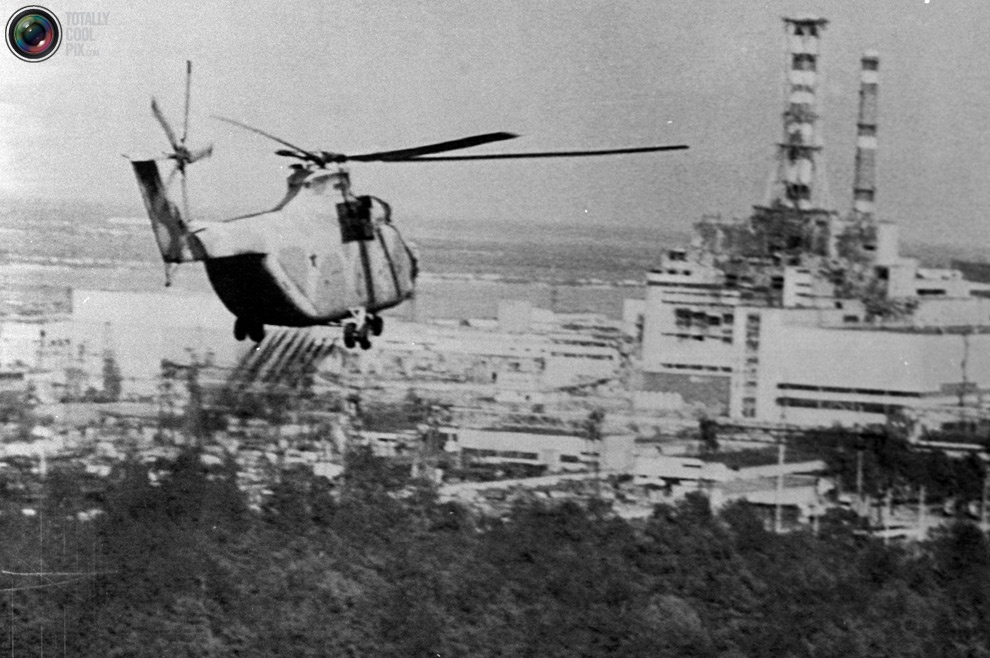 Risultati immagini per i soccorsi a Chernobyl nel 1986
