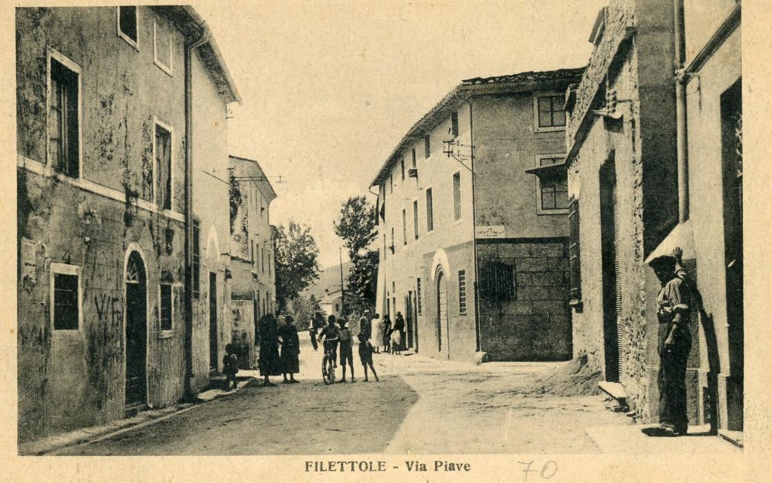 Filettole 1929, via Piave ..:: La Voce del Serchio ...